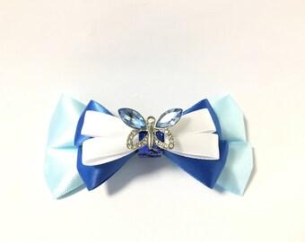 Cinderella, hair bow, hair accessory, Cinderella costume, birthday party, Disney princess, hair accessories, Cinderella birthday, hair clip