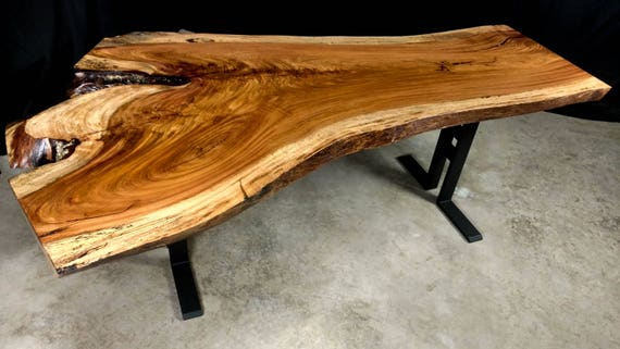 SALE! Live Edge Jatoba/Brazilian Cherry Dining Table