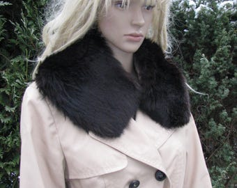 Vintage fur STOLE women COLLAR fox fur Hlinsko v Cechach