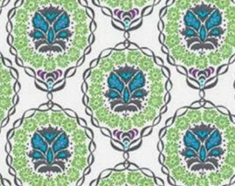 Robert Kaufman Fabrics; Valori Wells;  Quill in Olive Leaf; 1/2 yard woven cotton fabric