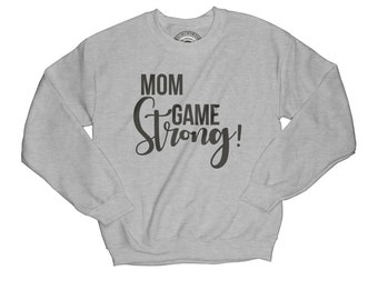 Blessed sweatshirt mom game sweatshirt strong mom sweatshirt  feminist sweatshirt thankful sweatshirt wife gift      APV29