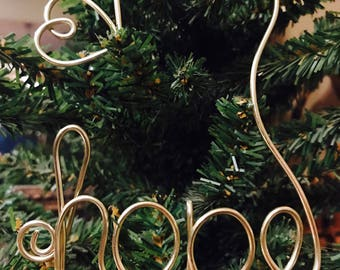Hope Wire Ornament Accessory