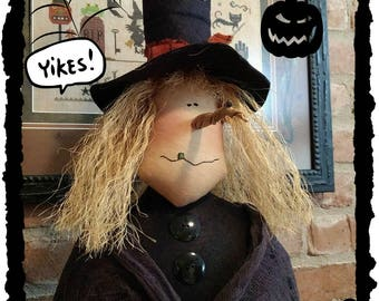 Primitive Handmade Hilda Witch