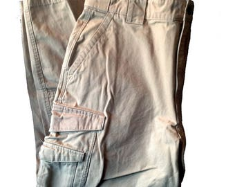 34 x 30 Medium Short Tru-Spec Khaki Tactical Pants