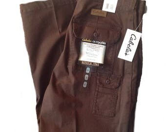 36 x 34 Cabela's Seven Pocket Stretch Hiking Pants