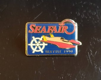 1990 Seattle Seafair lapel pin