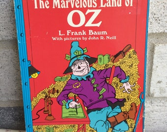 The Marvelous Land of Oz by L. Frank Baum Paperback Book