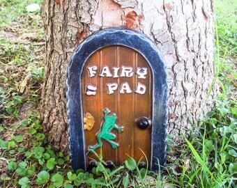 fairy garden - Fairy garden accessories - Fairy door - Garden decor - Fairy door for tree - Fairy house door - Large fairy door - Fairy pad