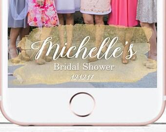 Bridal Shower Geofilter, Snapchat Geofilter Bridal, Custom Geofilter, Custom Snapchat, Bridal Shower, Wedding Snapchat, Bridal Shower Filter