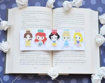 Princess set 1 magnetic bookmark