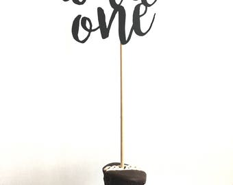 Wild One Cake Topper - Wild One Birthday - Wild One Baby Shower - Baby Shower - First Birthday - Wild One Tribal - Tribal Party - Wild One