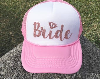 Bride Hat Cap Basball Trucker Bridesmaid Bride Tribe Bachelorette Bachelor Party Wedding gift maid of honor mother of the bride groom party