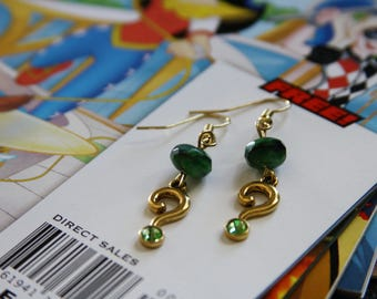 The Riddler Earrings