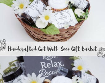 Cheer Up Gift Basket, Thinking of You Gift, New Mom Gift Basket, Break Up Gift Box, Get Well Package, Sympathy Gift Basket, Spa Gift Basket