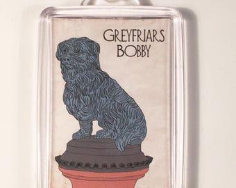 Greyfriars Bobby Keyring