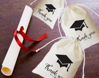 Graduation bags, graduation gift, graduation party, graduation, college graduation, class of 2018, graduaton favor,custom graduation