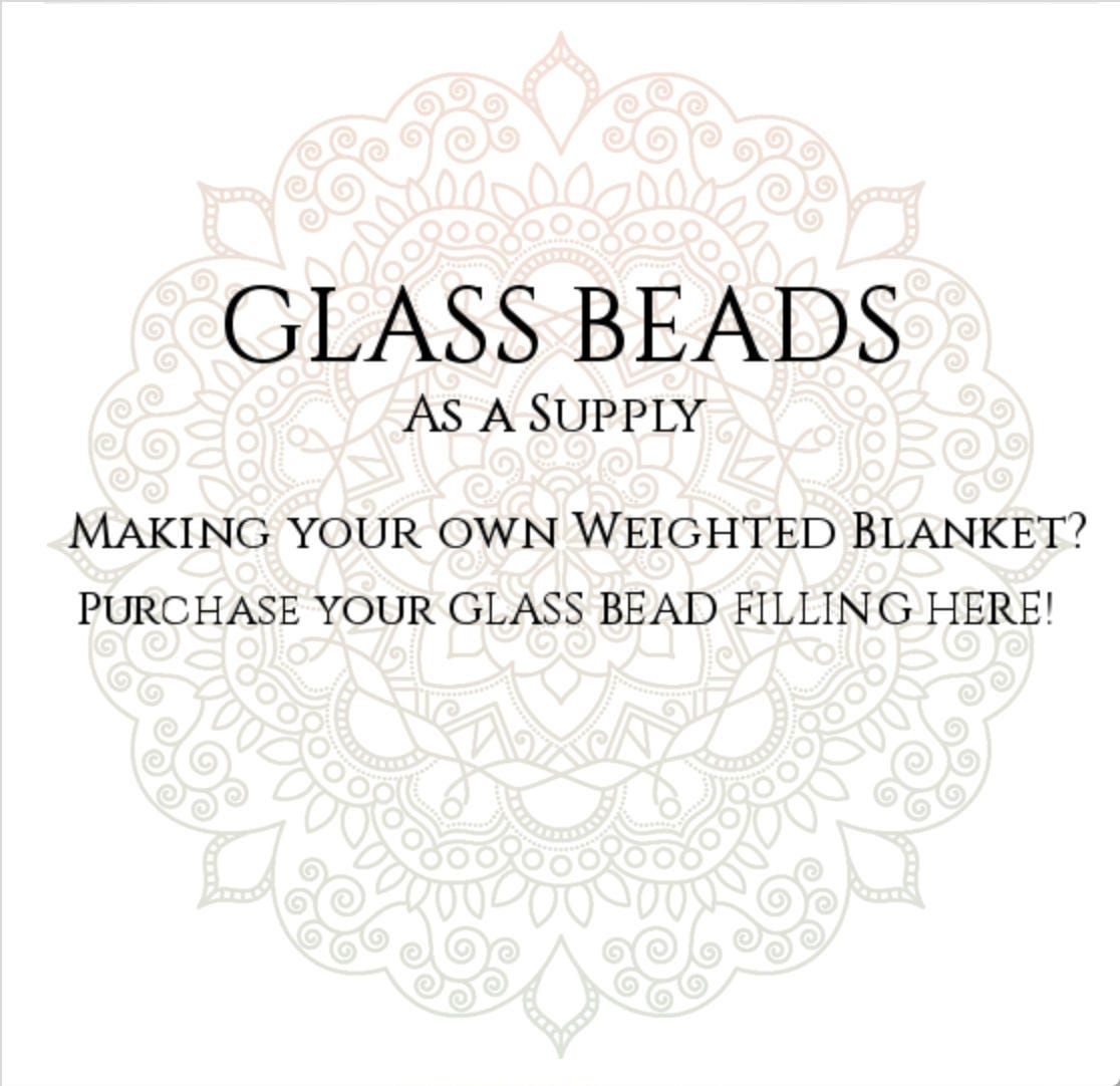 Glass Bead Filling For Making Your Own Weighted Blanket