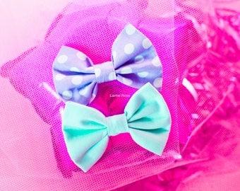 bow brooch / hair accessories | pastel fairy kei