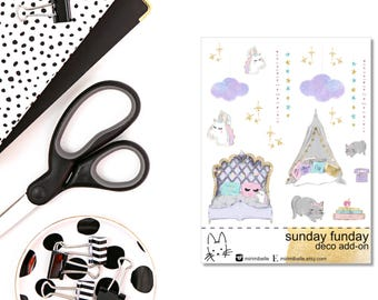 Sunday Funday - ADD-ON Deco Sticker