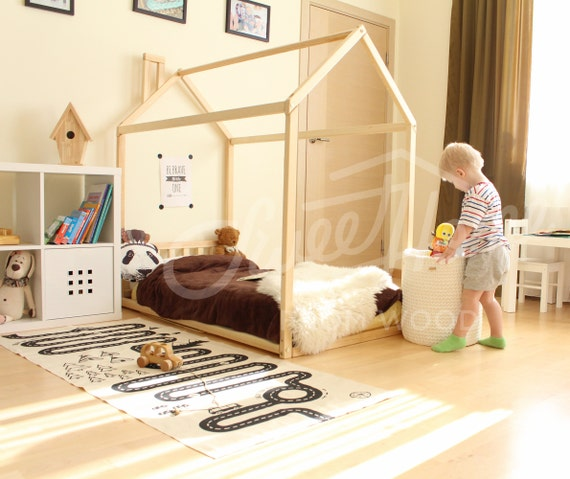 Like this item? & House bed frame FULL or QUEEN toddler bed cabin bed floor