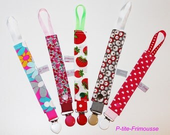 Ties for fabrics to choose for baby or small children.