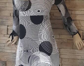 boho dress,hippie mini dress,poet sleeve,festival dress ,mod dress, 60-70s fashion