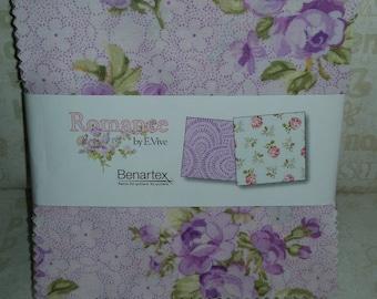 Romance - Charm Pack - Benartex - by E. Vive