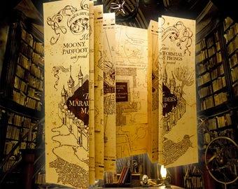 Mini Marauder's Map from Harry Potter