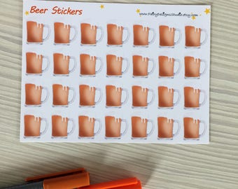 Beer Planner Stickers
