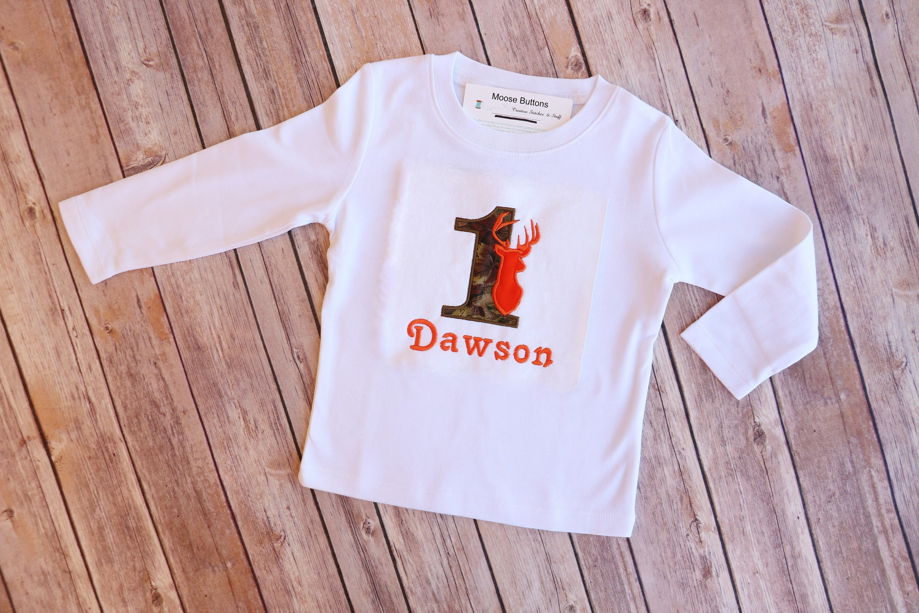 Boys First Birthday Outfit Camo Shirt 1st