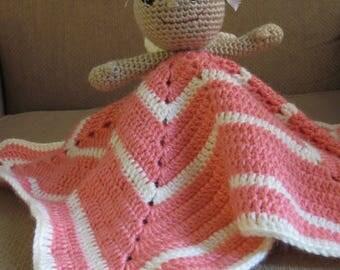 Handmade, Crocheted Fairy Lovey
