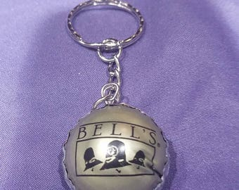 Bottle Cap Keychain #051