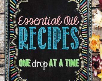 Essential Oil Recipe Book: One Drop at a Time