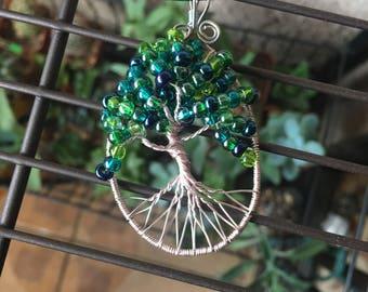 Tree of life shades of green