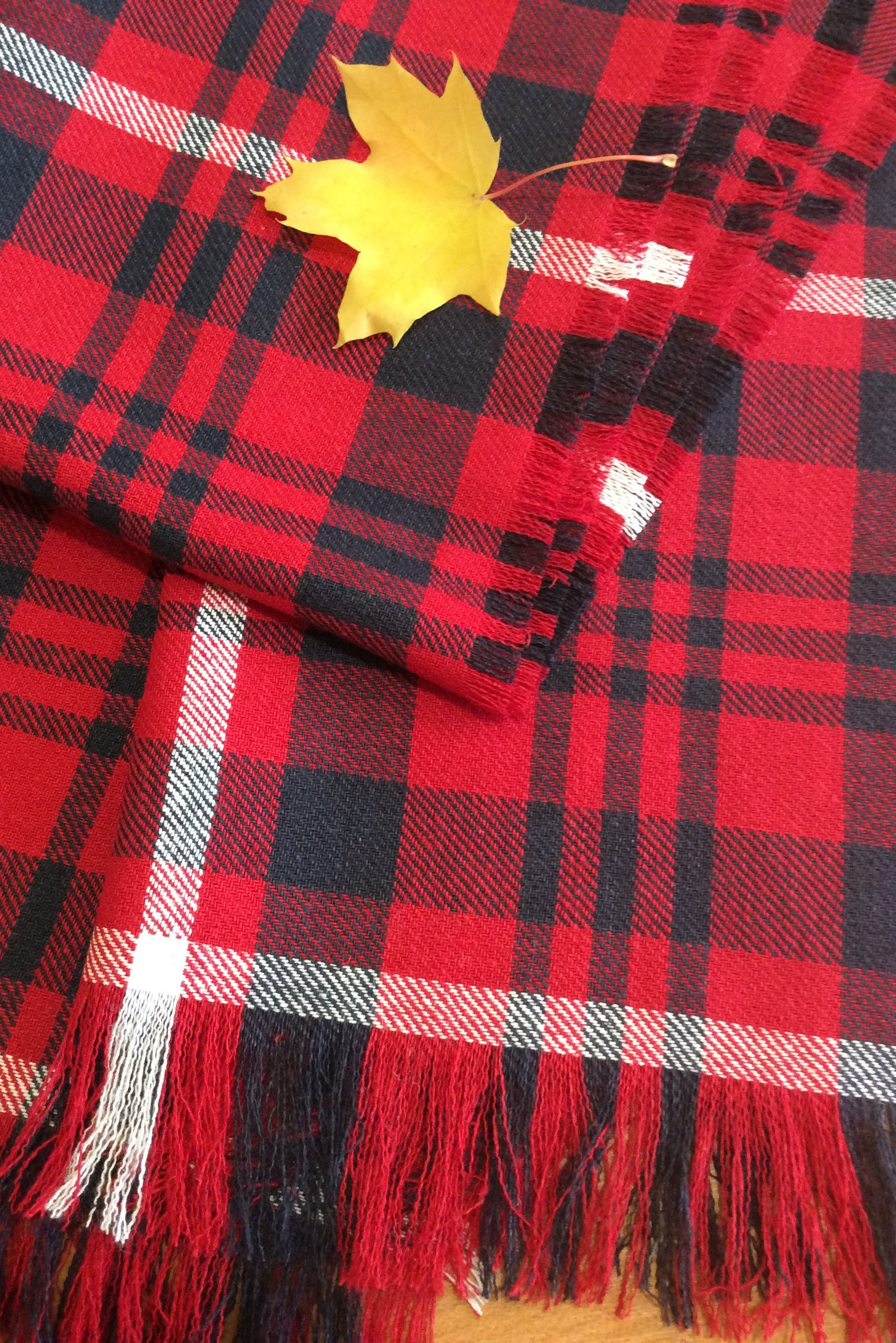 red blanket scarf christmas plaid scarf blanket scarf tartan plaid scarf linen scarf scarf plaid scarf - Christmas Plaid Scarf