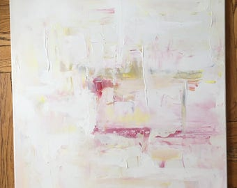 """Restore. 30""""x24"""" Abstract Painting."""