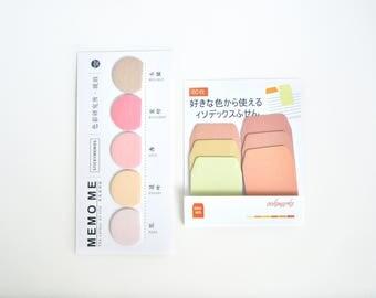 Orange Ombre Sticky Notes, Sticky Note Tabs, Post It - PJ256