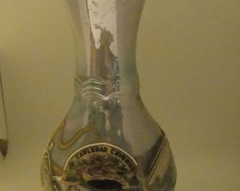 Vintage souvenir vase from Carlsbad Caverns