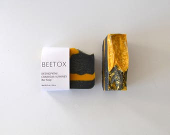 Charcoal and Honey Detox Bar Soap