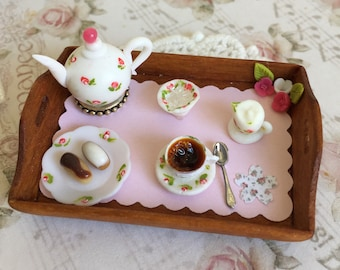 Tea time tray