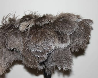 One soft first grade ostrich feather duster large feather head 50 grm weight