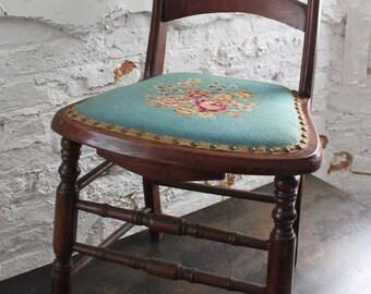 Eden Needlepoint Chair