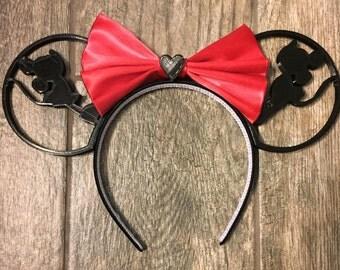 Mickey & Minnie Love 3D Mouse Ears