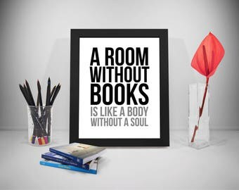 Gift ideas for book lovers etsy for Bedroom ideas for book lovers