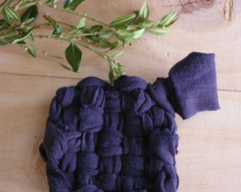 Tawashi in recycled fabric - MOP washing - wipe - cloth for cleaning - sponge - ZERO waste