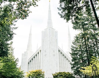 Portland Oregon Temple 2