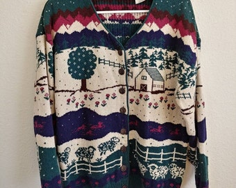 Vintage Countryside Sweater