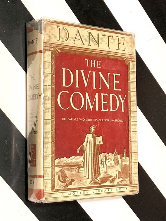 The Divine Comedy by Dante (1932) Modern Library hardcover book
