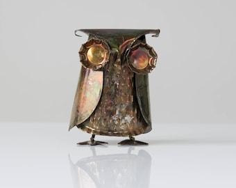Vintage Metal Owl