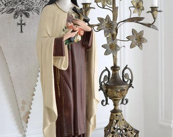 Antique French statue of Theresia